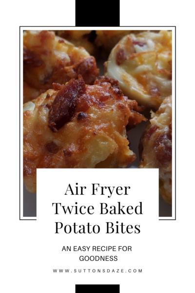 Twice Baked Potato Bites