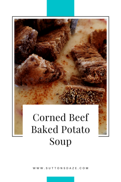 Corned Beef Baked Potato Soup
