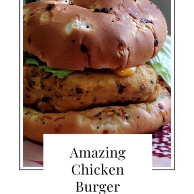 Amazing Chicken Burger