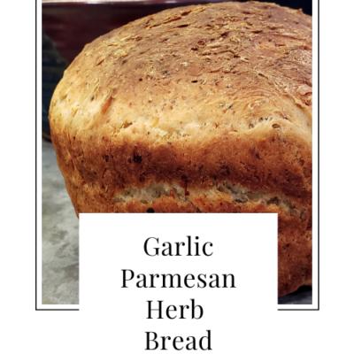 Garlic Parmesan Herb Bread