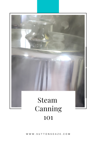 Steam Canning 101