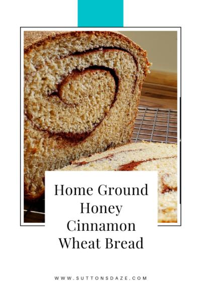 Honey Cinnamon Wheat Bread