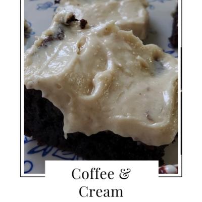 Coffee & Cream Brownies